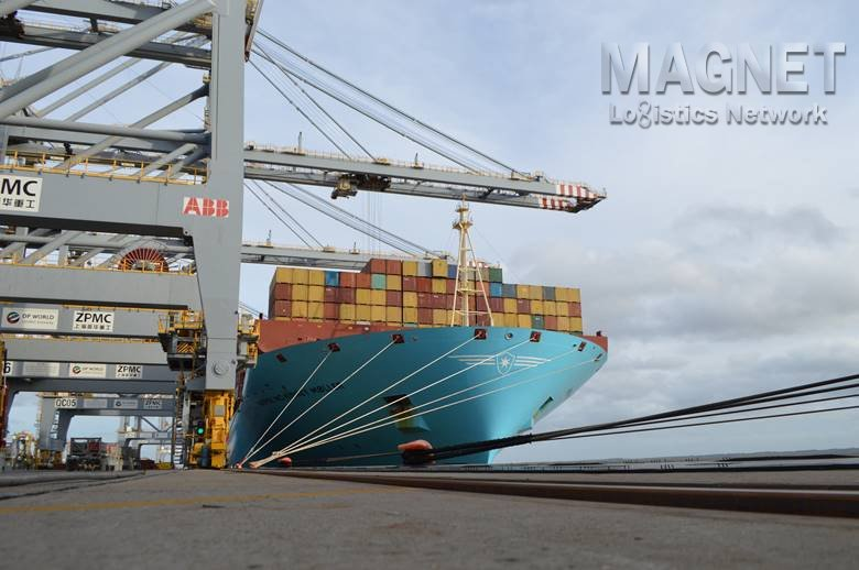 FLAGSHIP VESSEL ARRIVES TO MARK START OF 2M ASIA-EUROPE SERVICE AT DP WORLD LONDON GATEWAY