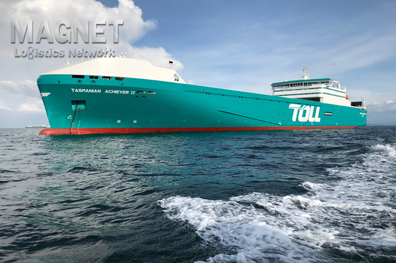 Global logistics giant Toll unveils two new Bass Strait ships